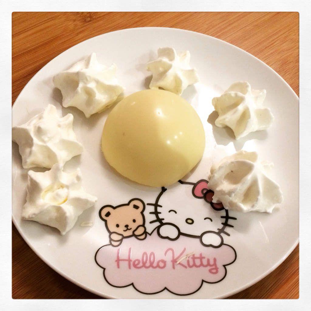 Dômes de chocolat Blanc