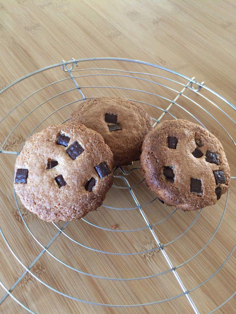 Petits gâteaux chocolat et framboises