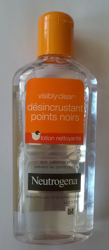 Neutrogena, Visibly Clear, Désincrustant points noirs.