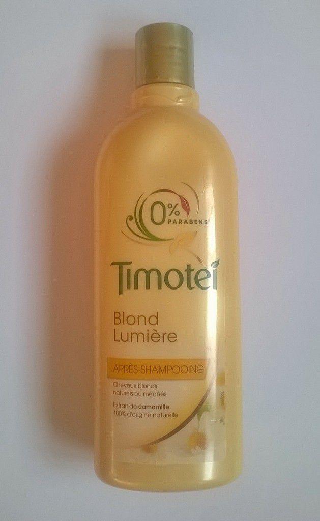 Timotei, Shampooing et Après-Shampooing, blond lumière