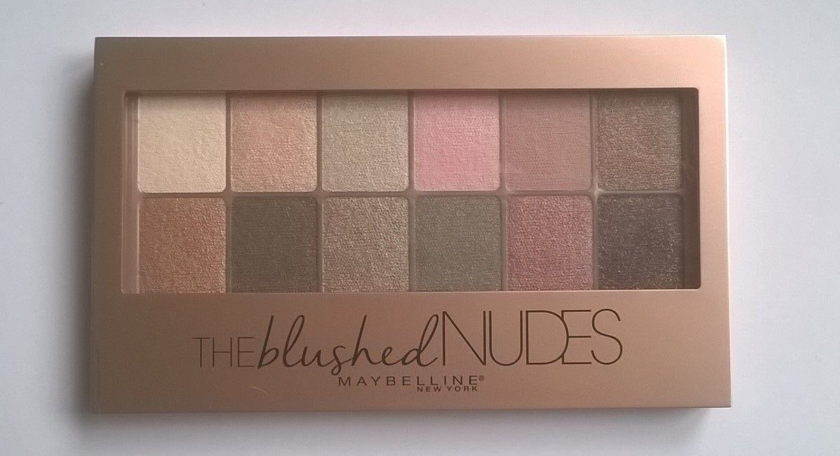 Maybelline, The Blushed Nudes