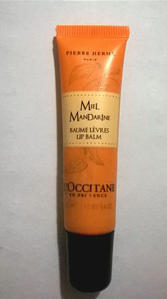 L'Occitane, Baume à lèvres, Miel Mandarine