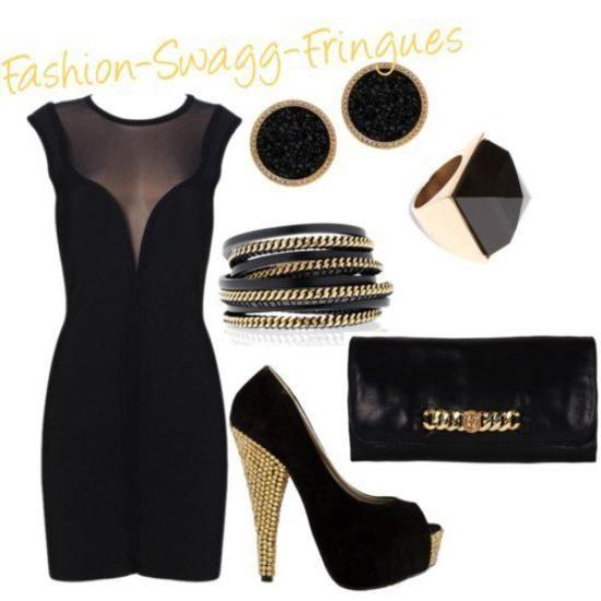 tenue swag femme robe. Black Bedroom Furniture Sets. Home Design Ideas