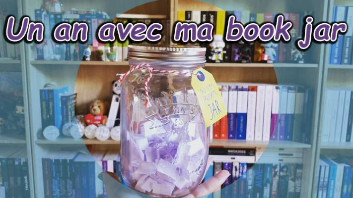 UN AN AVEC MA BOOK JAR .