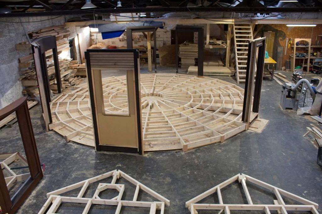 Fabrication de Yourte &quot&#x3B;Made in les Vosges&quot&#x3B;