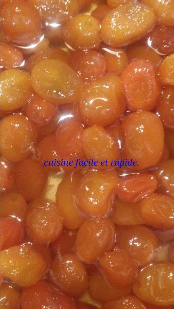 Confiture de kumquat. معجون الشوينة