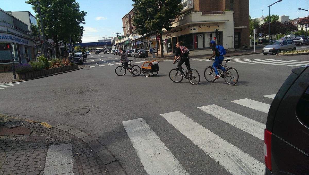 Vélos en ville