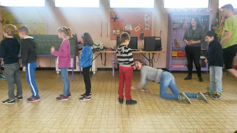 blind test, épreuve de danse et mimes