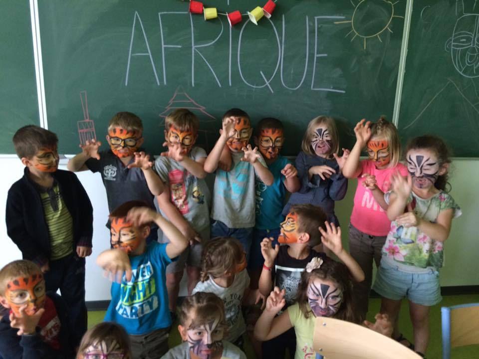 Les 6 ans découvrent l'Afrique