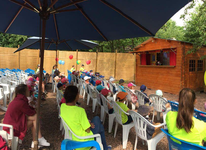 En direct du Ch'ti parc pour les maternelles : prêts pour le théâtre de marionnettes