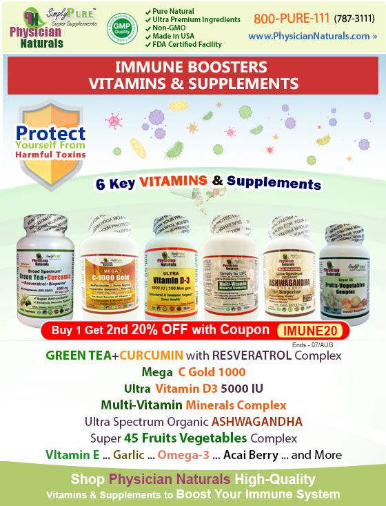 Best Vitamins Herbal Supplements That Boost Immune System Most Popular Health Articles Best Supplements 2020
