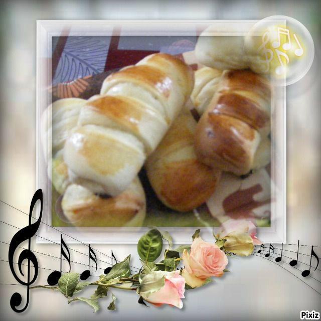 Voilà des petits pains bien bon et bien tendre, les enfants en raffolent...