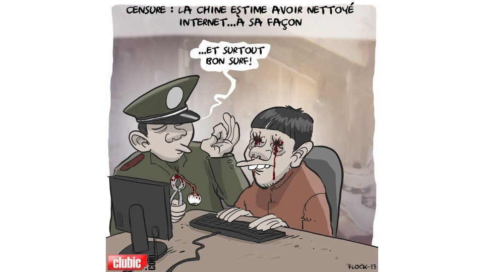 La Chine à l'assaut du net