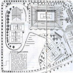 L'évolution du stade (1969, 1980 et 2016)