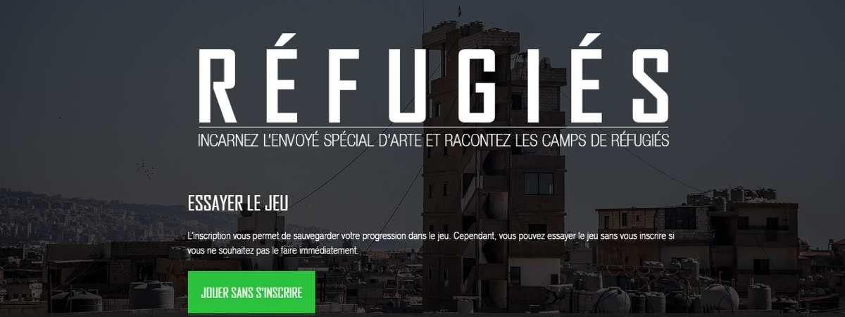 Réfugiés, le webdocumentaire/jeu sur un camp de réfugiés
