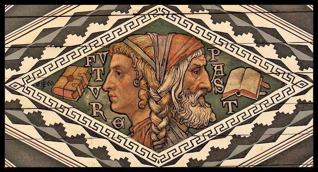 Janus, dieu des commencements et des fins, des choix et des portes