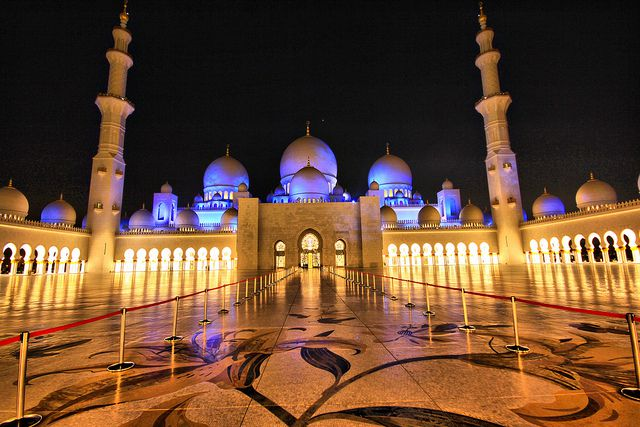 MOSQUEE DES EMIRATS ARABES