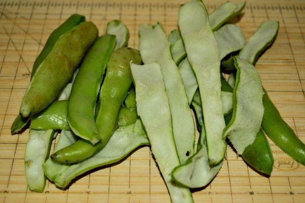 cuisiner les fèves sans s'énerver et sans gaspillage - au jardin