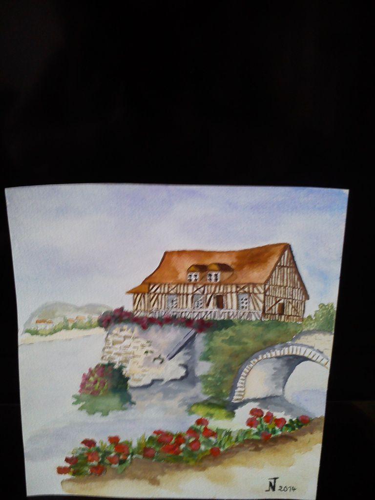 Peintures et Aquarelles sont à vendre  me contacter par e mail  nicole.truffy@orange.fr