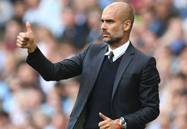 Pep. Man City's manager.