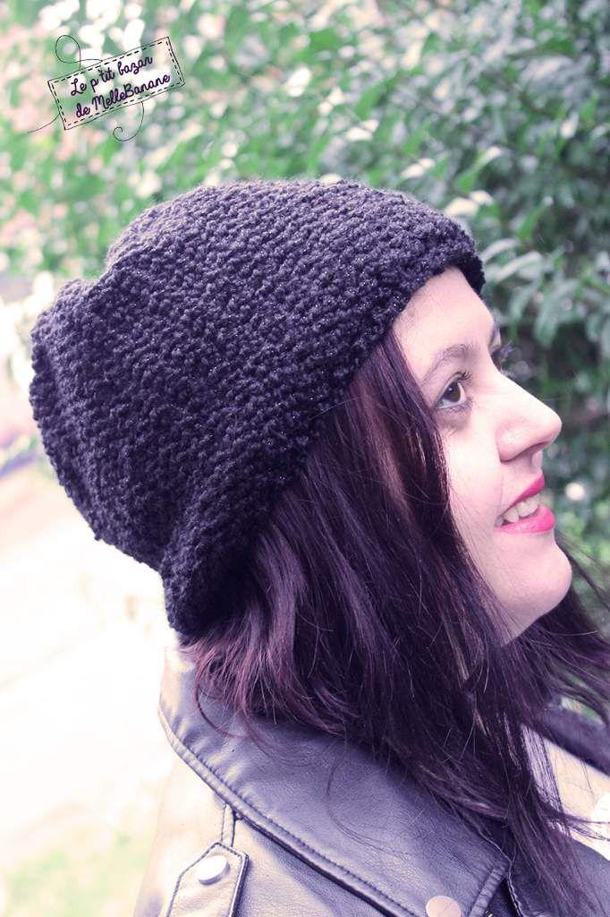Hervorragend Bonnet - Béret au tricotin - UZ64