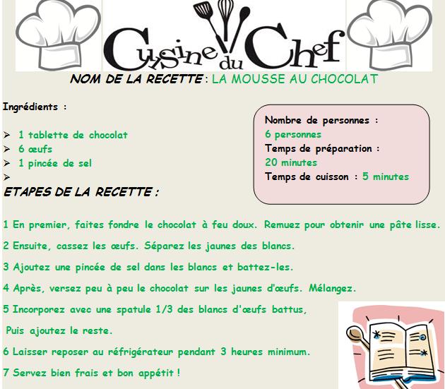 Recette De La Pate A Crepes Correction Cocorico Langue Etrangere