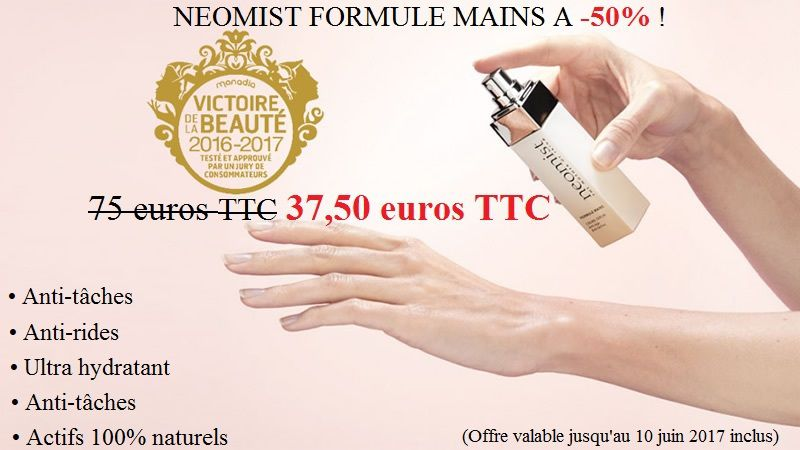 Offre exclusive NEOMIST