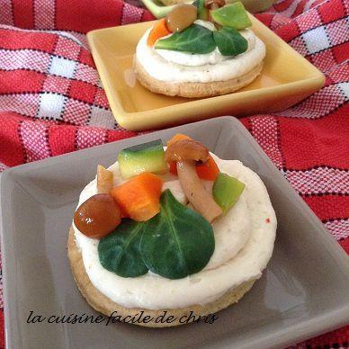 tarte fine de camembert
