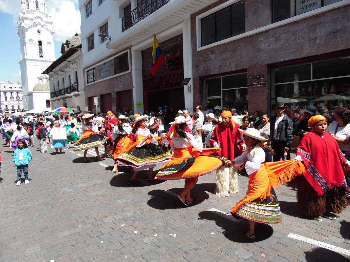 Un dimanche à Quito