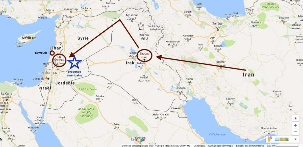 L'arc chiite souhaité par l'Iran ne plaît pas à Washington
