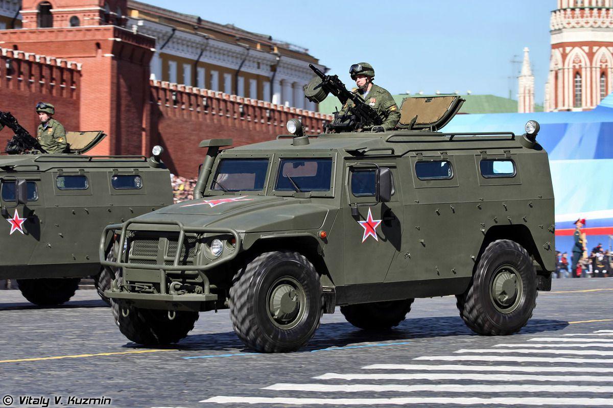 Le dernier blindé GAZ-2330 Tigr qui équipe les armées russes