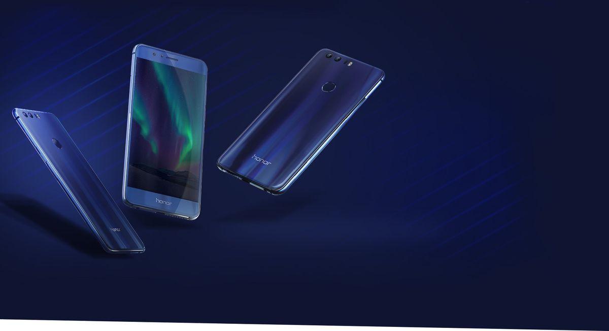Smartphone Honor 8 (bleu)