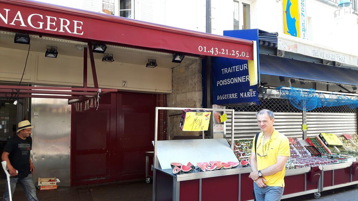 Défi 10 : Rue Daguerre à Paris, séquence nostalgie