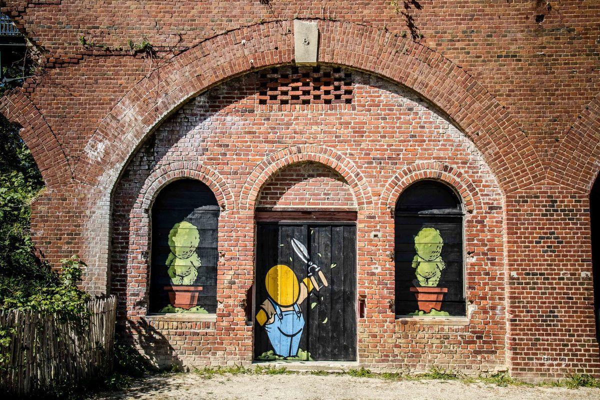 Quand le Street Art passe de l'état sauvage à une expo officielle au travers de la ville ...