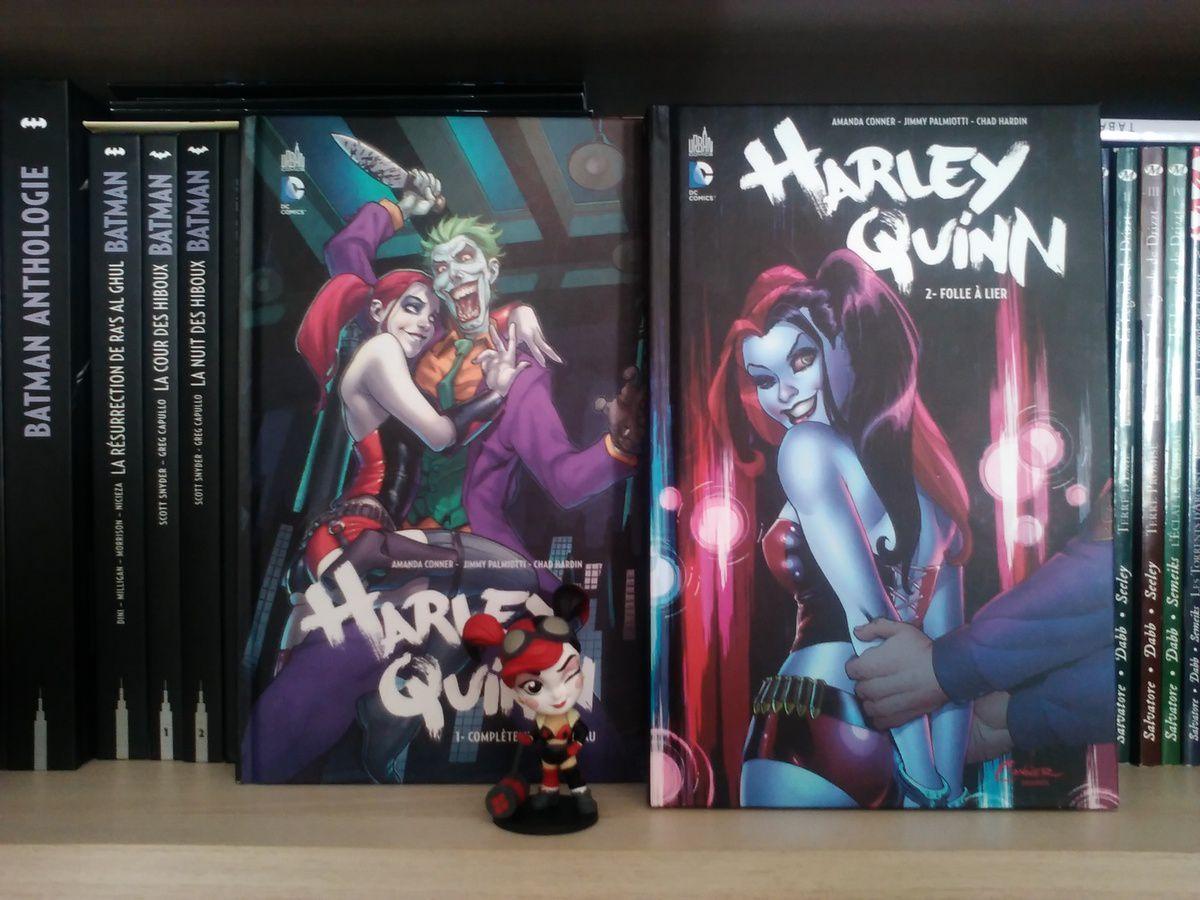 Mes dernières lectures - Comics - Harley Quinn, tomes 1 et 2