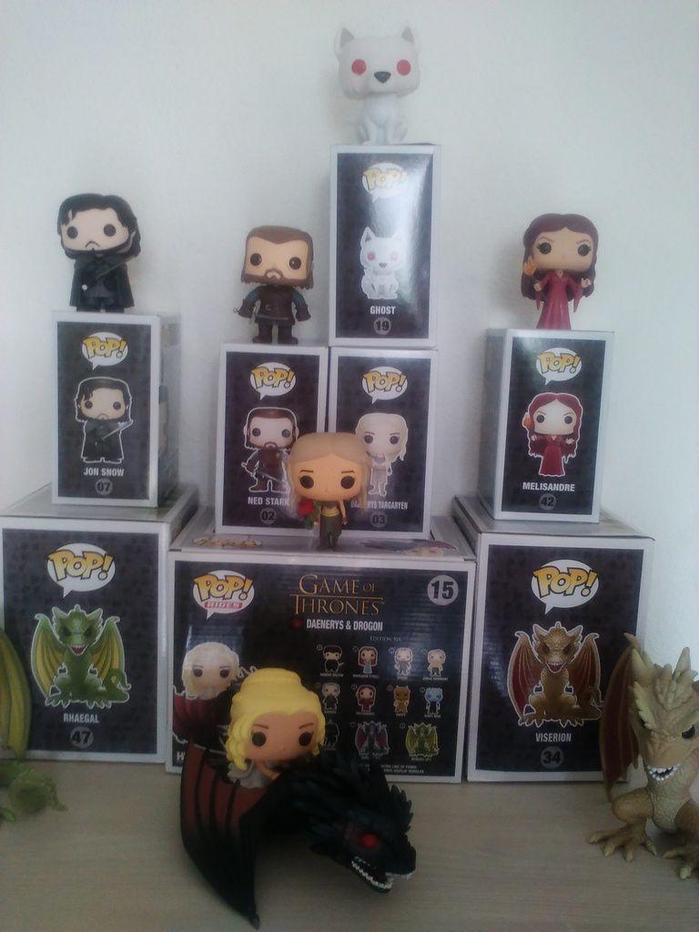 Mes figurines Funko Pop Game of Thrones