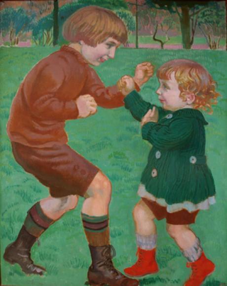 """""""La boxe"""" de Maurice Denis (1918)"""
