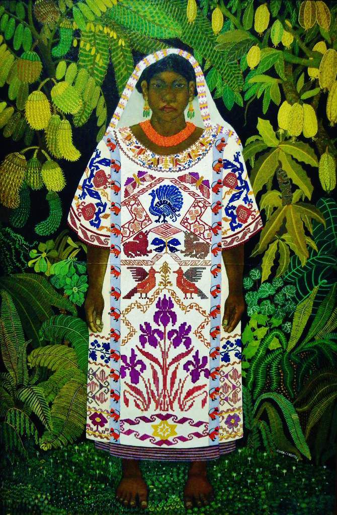 Indienne d'Oaxaca - Ramon Ceno Manilla 1928 - Copyright mycottoncloud