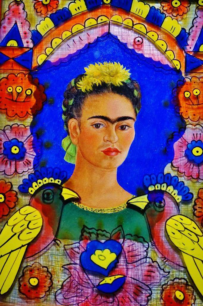 Autoportrait - Frida Kahlo 1938 - Tous droits réservés