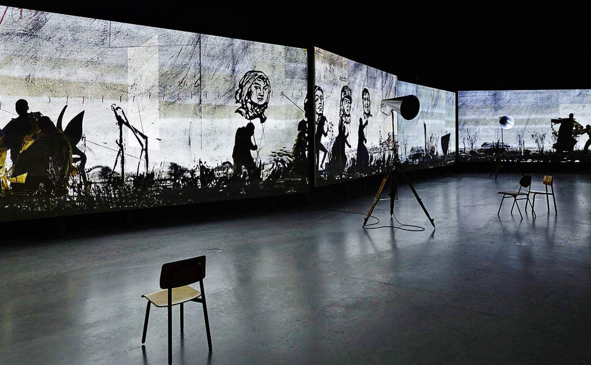 More Sweetly Play The Dance 2015 - William Kentridge - Tous droits réservés
