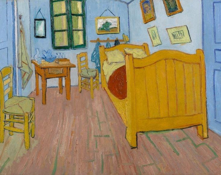 Van Gogh - La Chambre 1888 - Tous droits réservés