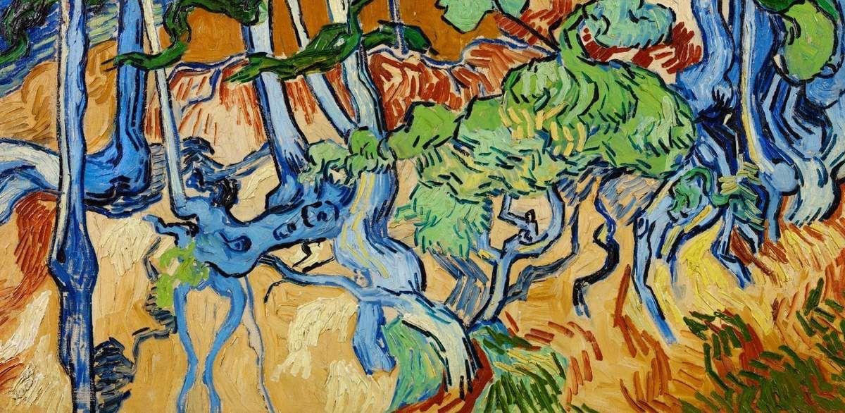 Van Gogh - Racines d'arbres 1980 - Tous droits réservés