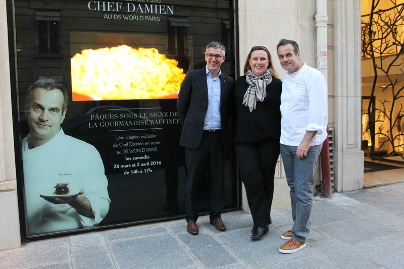 DéeSse World Paris avec Chef Damien