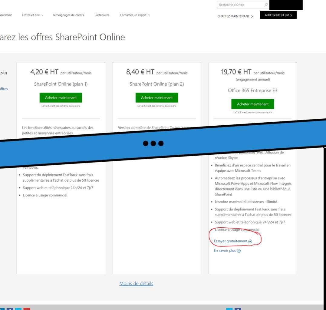 Astuces microsouffle - Creer un compte office 365 ...