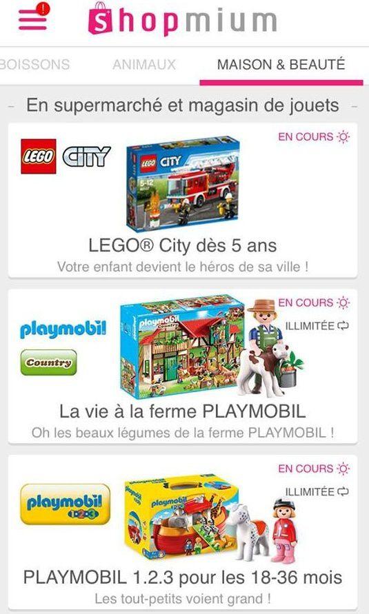 Shopmium Playmobils Gratuits