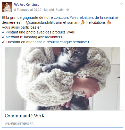 Concours WAK