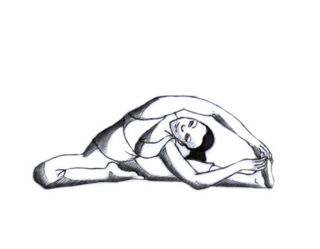 Yoga Poses ... Give 10 minutes for Stress Relief
