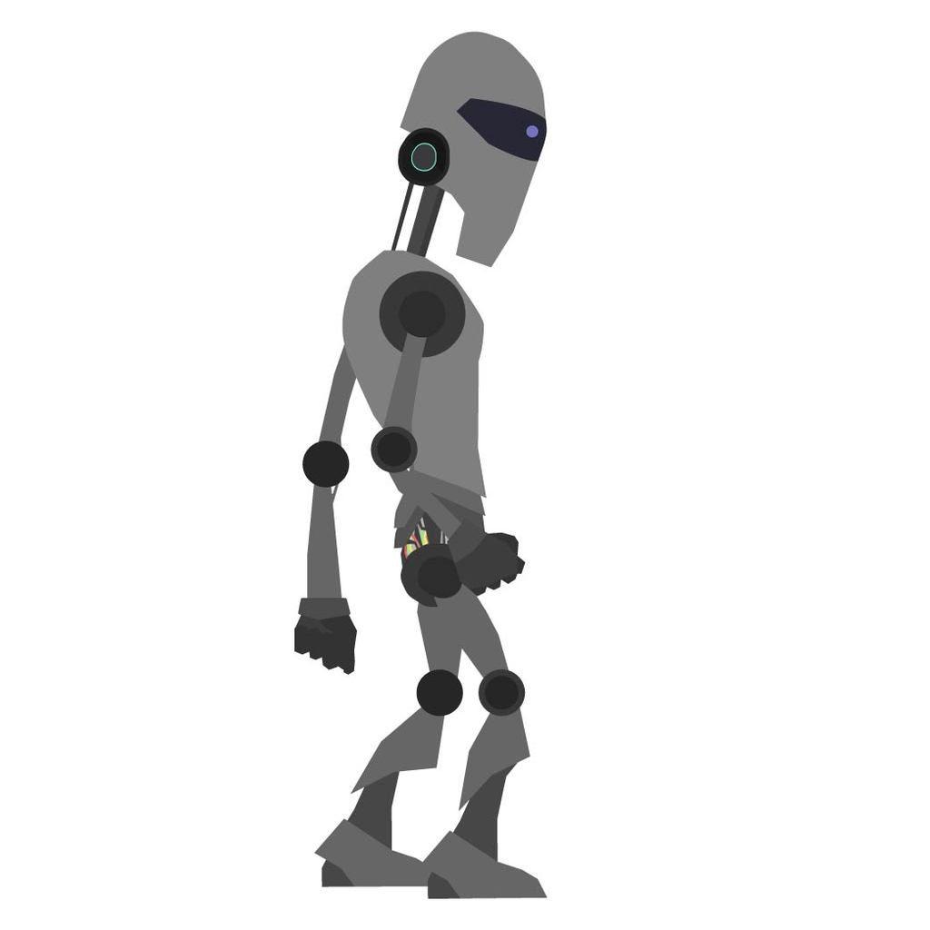 Robot futuriste (force métal)