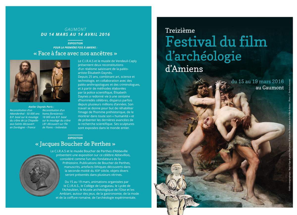 Festival du film d'archéologie d'Amiens