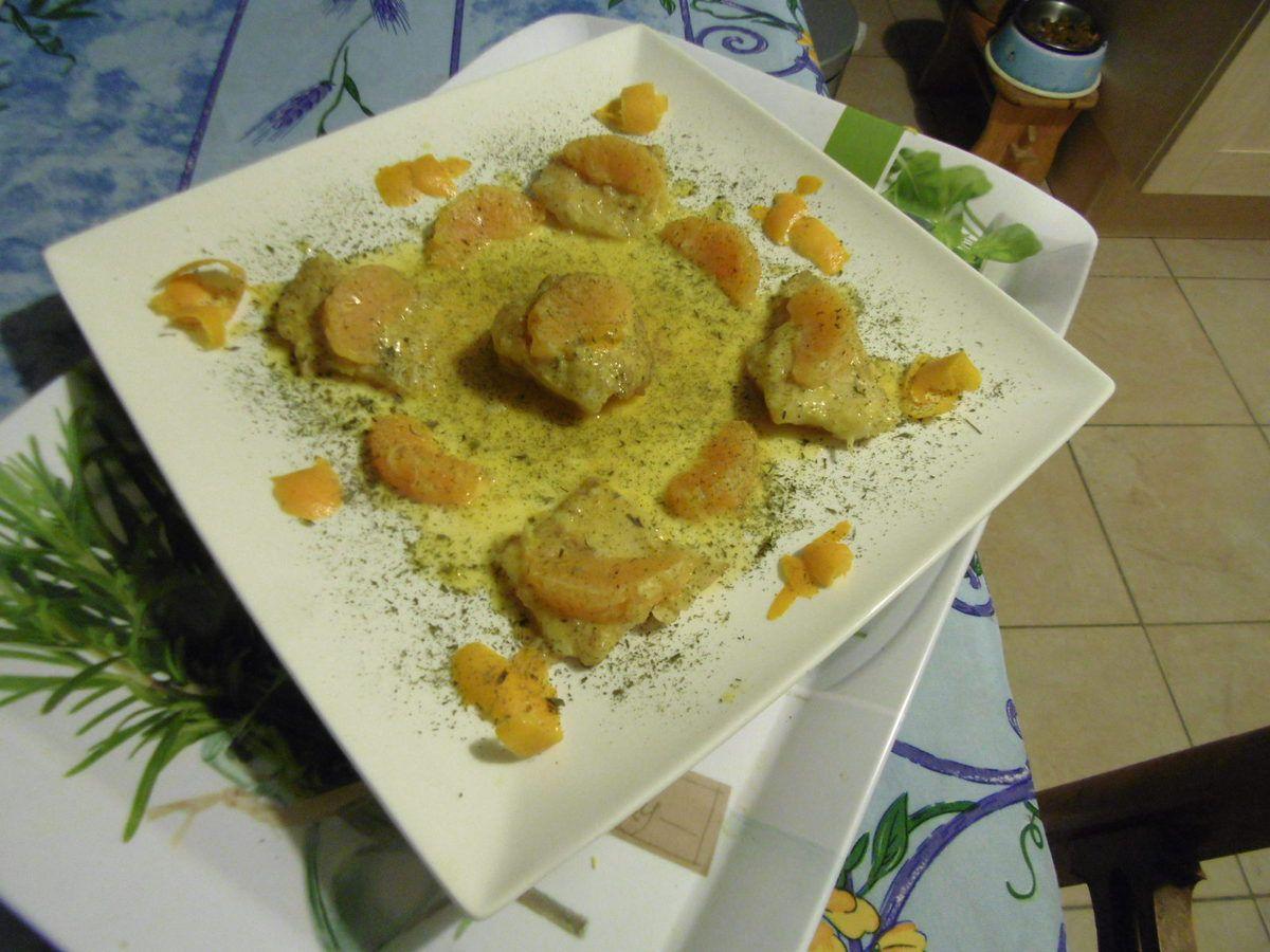 Poisson - Pavé de Morue au Beurre Orangé - recette de Marie